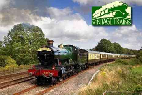 The Shakespeare Express - Adult Ticket to Tyseley Locomotive Works - Save 60%