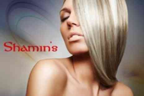 Shamin's Hair and Beauty Parlour - Half Head Highlights With Cut and Blow Dry - Save 63%