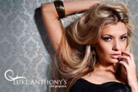 Luke Anthonys - Cut and Blow Dry With Half Head Highlights - Save 50%