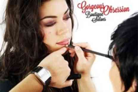 Gorgeous Obsession - Make Up Workshop For Three People With Complimentary Mascara Each - Save 50%