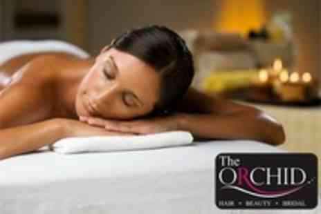 The Orchid Hair and Beauty - One Hour Aromatherapy Full Body Massage and Monu Facial Plus Thai Manicure or Head Massage - Save 50%