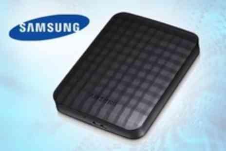 Retail Outlet - Samsung External Hard Drive With USB 3.0 Includive Delivery - Save 49%