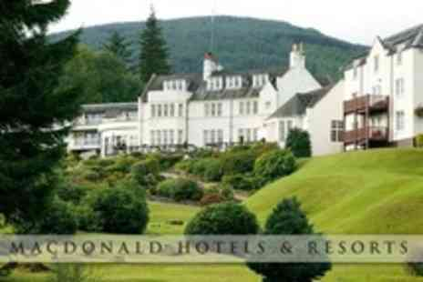 Macdonald Forest Hills Hotel - In The Trossachs One Night Stay For Two With Breakfast - Save 48%