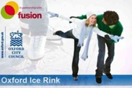 Oxford Ice Rink - Ice Skating For Two - Save 58%