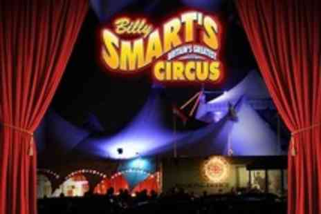 Billy Smart's Circus - Tickets For Family of Four  - Save 58%