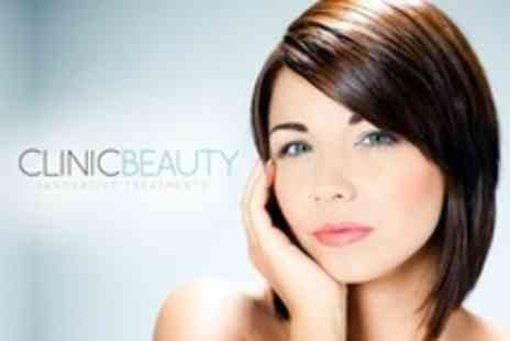 Clinic Beauty - Three Microdermabrasion or Glycolic Peel Sessions - Save 81%