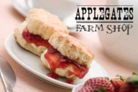 Applegates Farm Shop - Afternoon Tea For Two - Save 51%