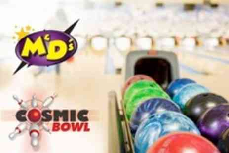 M & Ds Theme Park - Bowling One Hour For Six - Save 50%
