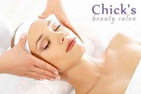 Chicks Beauty Salon - Dermalogica Facial, Lash and Brow Tint and Shape, Plus Indian Head Massage - Save 62%