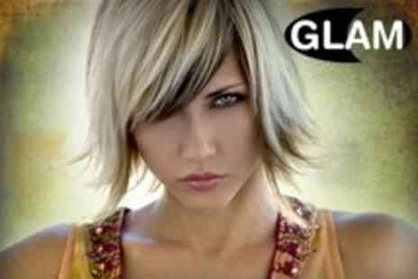 Glam Beauty - Full Head Colour or Half Head Highlights Plus Cut at Glam - Save 50%