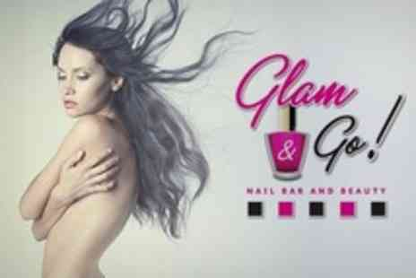 Glam and Go - Full Head of Hair Extensions Plus Consultation - Save 34%
