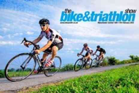 The Bike and Triathlon Show 2013 - Admission for British Cycling Live features include speed challenges and stunt teams - Save 50%