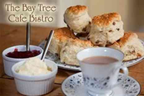 The Bay Tree Cafe Bistro - Afternoon Tea For Two - Save 50%