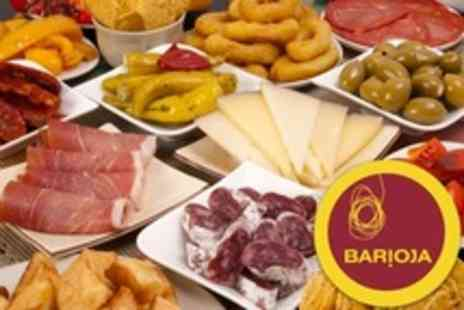 Barioja - Five Tapas Dishes For Two With Wine - Save 58%