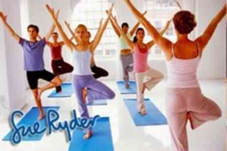 Sue Ryder - Five Classes Such as Pilates or Yoga - Save 43%
