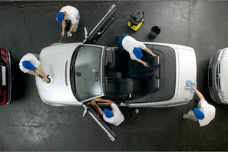 Waterless Car Valeting - £19 for a full interior and exterior car valet worth £49 from - Save 61%