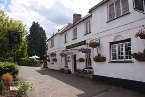 The White Horse Hotel - 2 Night stay for two including breakfast & afternoon tea with Champagne - save 64% - Save 64%
