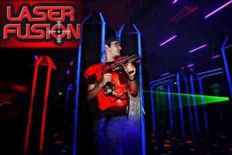 Laser Fusion - Group Laser Quest Package For up to 30 Adults - Save 67%
