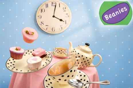 Beanies - Afternoon Tea For Two and Creche Entry For Two Children - Save 53%