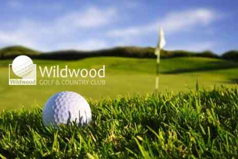 Wildwood Golf & Country Club - Full Day of Golf For Two With Bacon Roll and Coffee - Save 81%