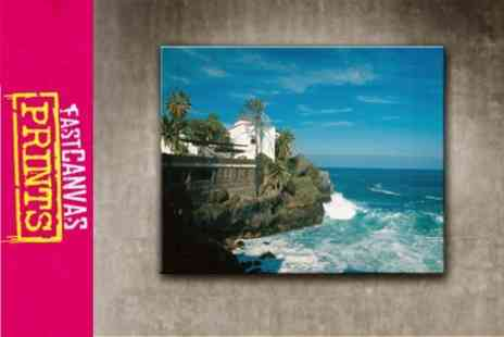 Fast Canvas Prints - 16x20 Personalised Canvas Photo Print - Save 75%