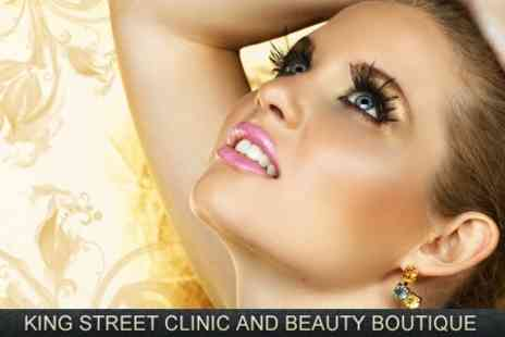 King Street Clinic - Semi Permanent Eyelash Extensions - Save 74%