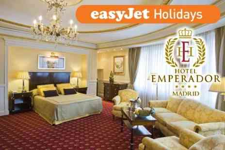 easyJet  Holidays - 2 night Madrid Getaway For Two in 4* Hotel Including Return Flights - Save 51%