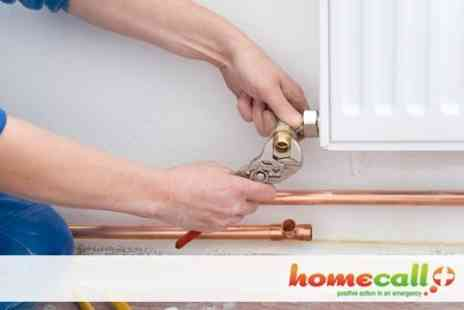 Home Call Plus - Central Heating Power Flush For up to Eight Radiators - Save 80%