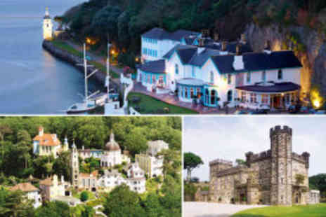 The Hotel Portmeirion - two night Portmeirion stay for two people - Save 62%
