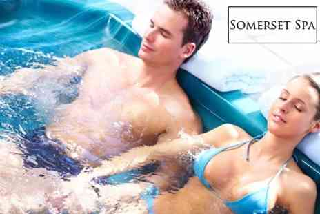 Somerset Spa - Two Night Converted Barn Stay With Bottle of Wine Plus Use of Hot Tub and Sauna For Four People - Save 63%