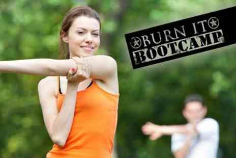 Burn It Boot Camp - Six Boot Camp Fitness Sessions for £14 with Burn It Boot Camp (Value £36) - Save 61%