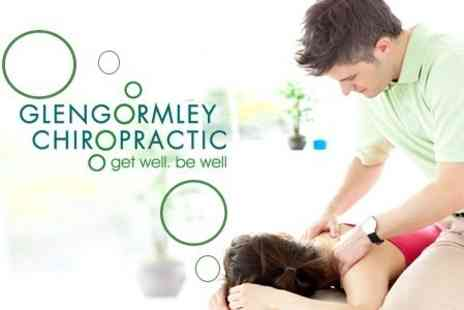 Glengormley Chiropractic - Back Care Starter Kit Including Consultation, Nerve Scans and Adjustment Plus Choice of Massage - Save 75%