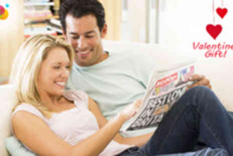 Scooped - Personalised and Branded Newspaper for Valentine's Day - Save 53%