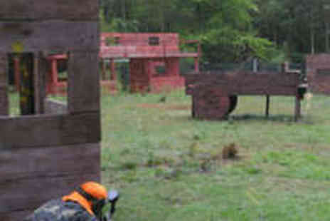 Paintball Park - All Day Paintball Experience with 200 Paintballs - Save 56%