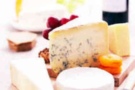 Love Cheese - Gourmet Seven Cheese Taster Board and Wine for Two - Save 50%