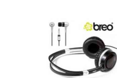Brand Arena - Breo Bullet Earphones Santos Headphones - Save 54%