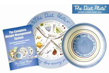 The Diet Plate - Complete Weight Management System - Save 57%