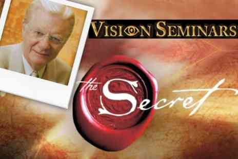 Vision Seminars - Ticket to The Secret with Bob Proctor - Save 60%