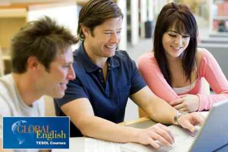 Global English - 120 Hour Premier Online TEFL Course - Save 80%
