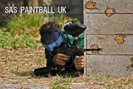 SAS Paintball - Paintball Experience With 100 Paintballs - Save 70%