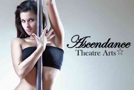 Ascendance Theatre Arts - Three 60 Minute Pole Dancing Lessons For One - Save 67%