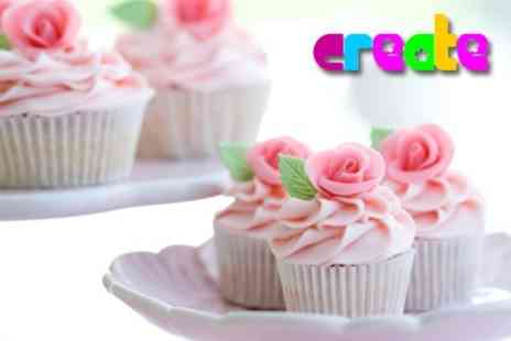 Create - Cupcake Decoration Class - Save 72%
