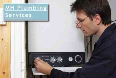 MH Plumbing Services - Full Boiler Service and Clean - Save 61%