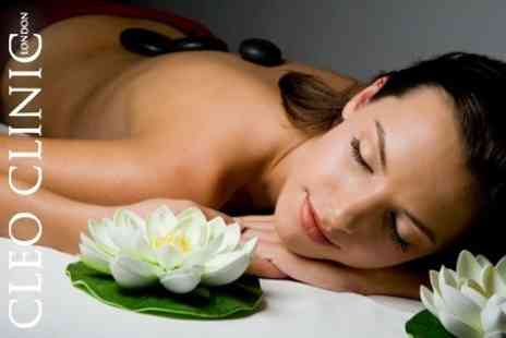 Cleo Clinic - Elemis Facial and Choice of Body Massage - Save 70%