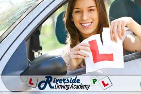 Riverside Driving Academy - Four 60 Minute Driving Lessons - Save 67%