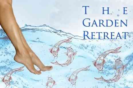 The Garden Retreat - 20 Minute Fish Foot Spa - Save 60%