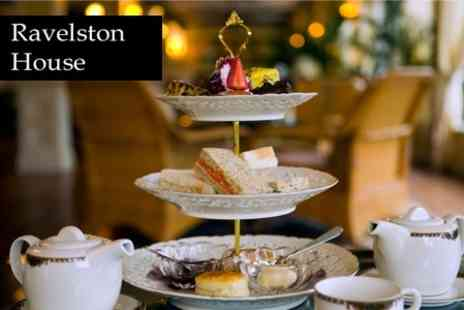 Ravelston House - Afternoon Tea For Two With Two - Save 56%