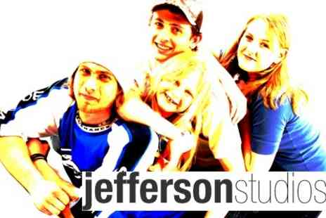 Jefferson Studios - Studio Photo Shoot for Individual or Group For Up To Ten People With Prints - Save 88%