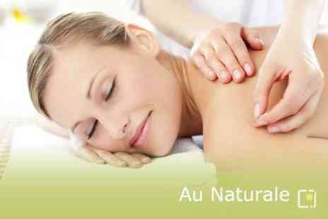 Au Naturale - Acupressure Medical Massage or Acupuncture With Heat Therapy - Save 75%