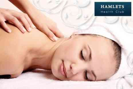 Hamlets Health Club - One Hour Sports Deep Tissue or Relaxation Massage - Save 68%